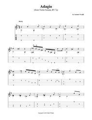 Adagio (from Violin Sonata, RV 7a)