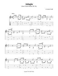 Adagio (from Violin Sonata, RV 26)