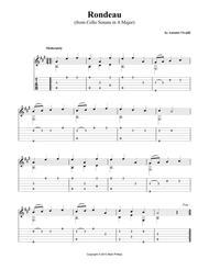 Rondeau (from Cello Sonata in A major)