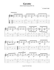Gavotte (from Violin Sonata, RV 16)