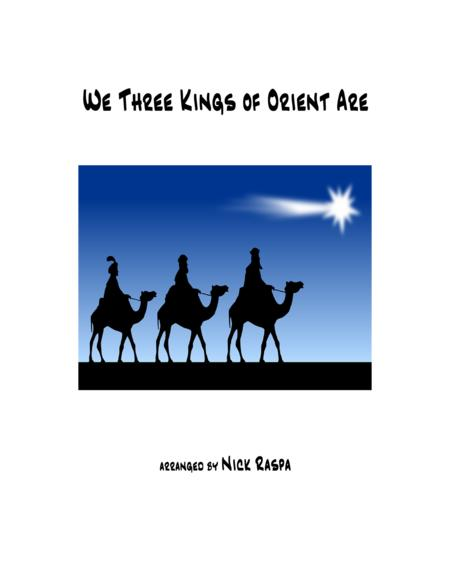 We Three Kings of Orient Are (Intermediate swing piano)
