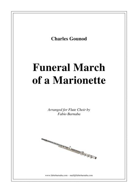 Funeral March of a Marionette - for Flute Choir