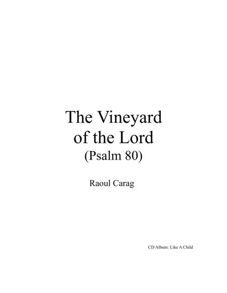 The Vineyard of the Lord (Psalm 80)