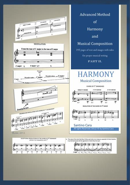 Advanced Method of Harmony and Musical Composition - PART 2