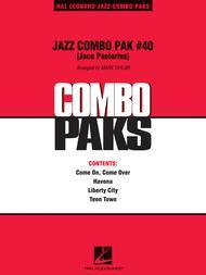 Jazz Combo Pak #40 (Jaco Pastorius)