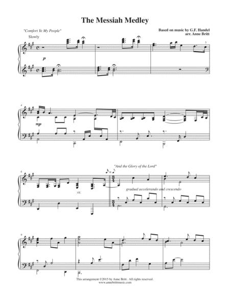 The Messiah Medley (based on songs from