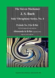 Prelude and Allemanda in B-flat for solo vibraphone