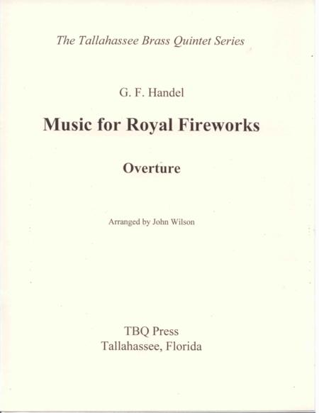 Overture to Music for Royal Fireworks