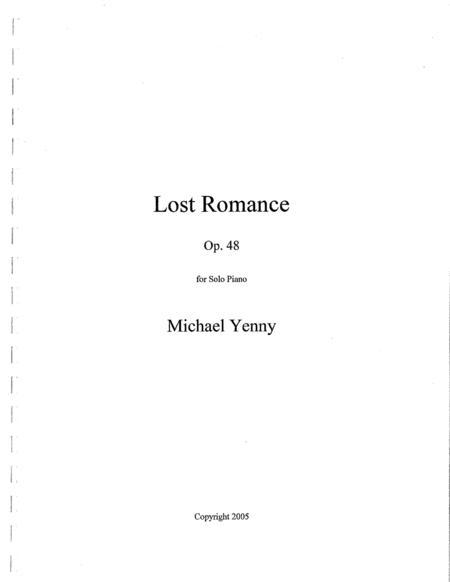 Lost Romance, op. 48
