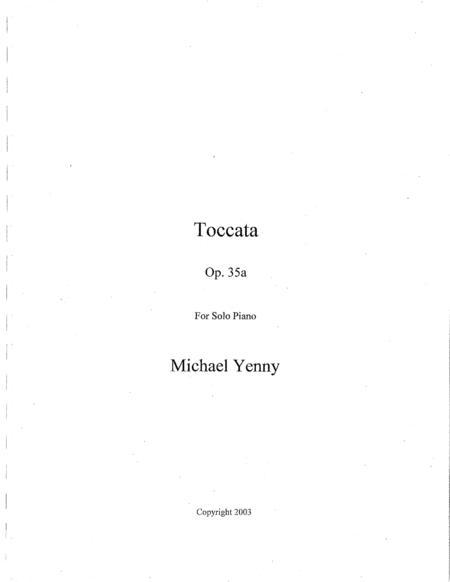Toccata, op. 35a
