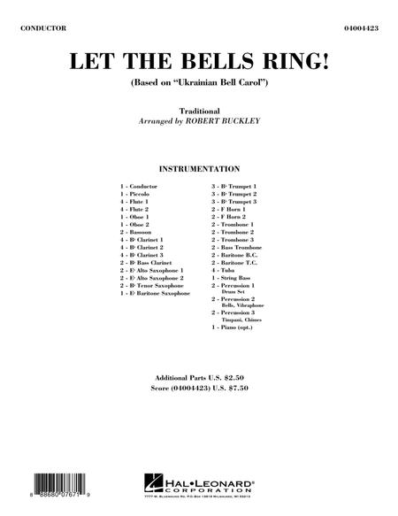 Let the Bells Ring! - Conductor Score (Full Score)