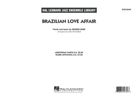 Brazilian Love Affair - Conductor Score (Full Score)