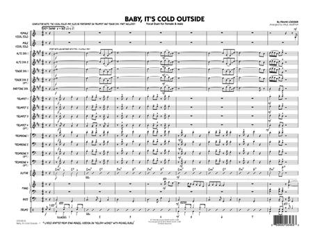 Baby, It's Cold Outside (Key: C) - Conductor Score (Full Score)