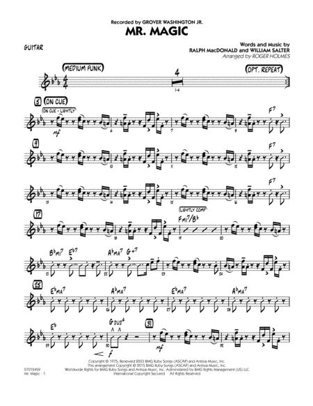 Mister Magic (Mr. Magic) - Guitar