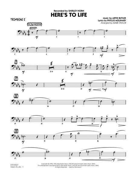 Here's To Life (Key: C minor) - Trombone 2