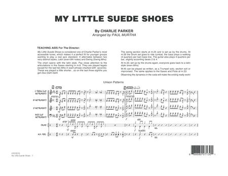 My Little Suede Shoes - Conductor Score (Full Score)