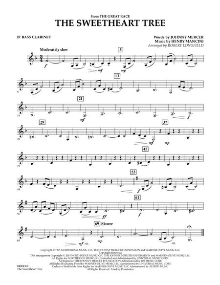 The Sweetheart Tree (from The Great Race) - Bb Bass Clarinet