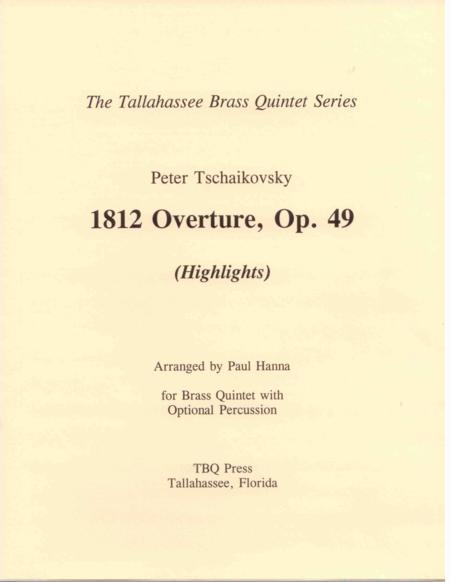 1812 Overture, Op. 49 (Highlights)