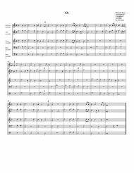 Instrumental quintet no.53 (no title) (arrangement for 3 recorders)