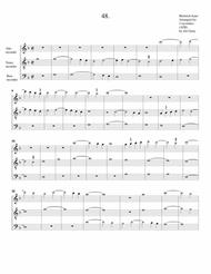 Instrumental trio no.48 (no title) (arrangement for 3 recorders)