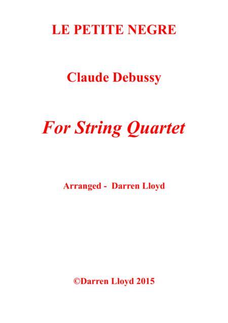 Le Petite Negre String Quartet