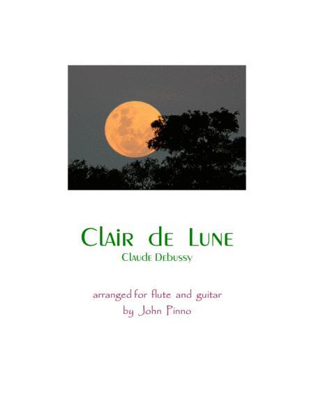 Clair de Lune (flute and classical guitar)