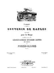 Ricordi di Napoli No. 3 Il papagallo, op. 85