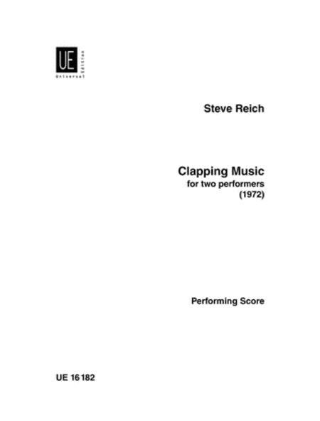 Clapping Music For 2 Players Performance Score