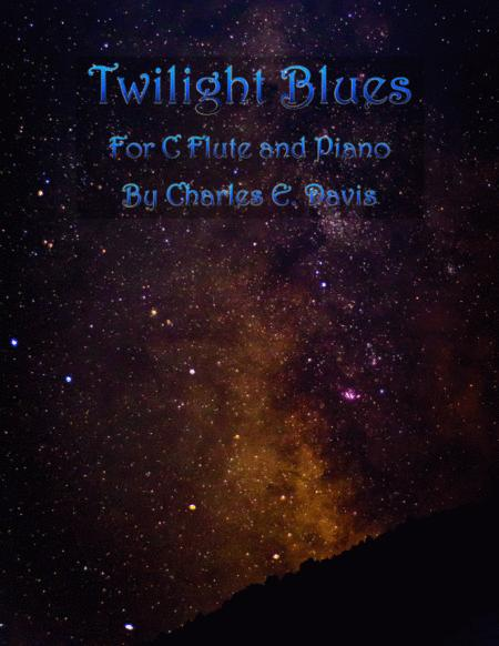 Twilight Blues - C Flute and Piano