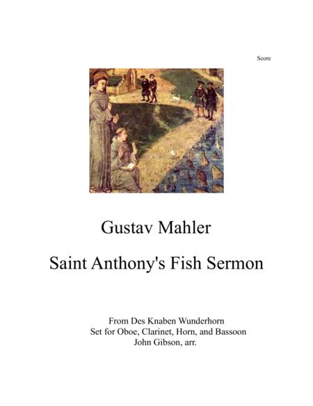 Sermon to the Fish for Woodwind Quartet