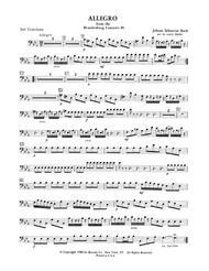 Allegro from Brandenburg Concerto No. 3 - 2nd Trombone