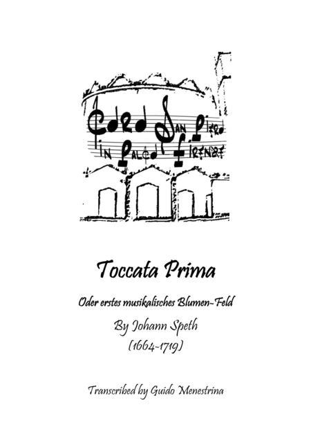 Johann Speth - Toccata Prima - Transcription by Guido Menestrina