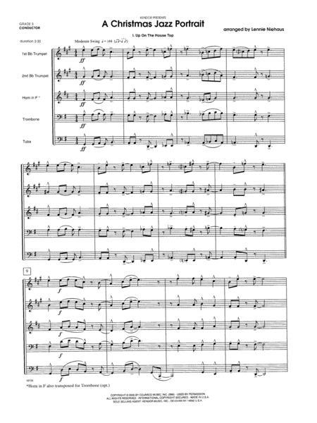 A Christmas Jazz Portrait - Full Score