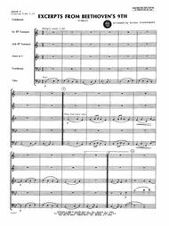 Excerpts From Beethoven's 9th - Full Score