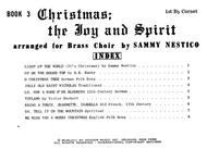 Christmas The Joy & Spirit - Book 3 - 1st Bb Cornet