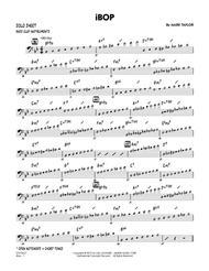 iBop - Bass Clef Solo Sheet
