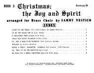 Christmas; The Joy & Spirit - Book 3/Baritone BC