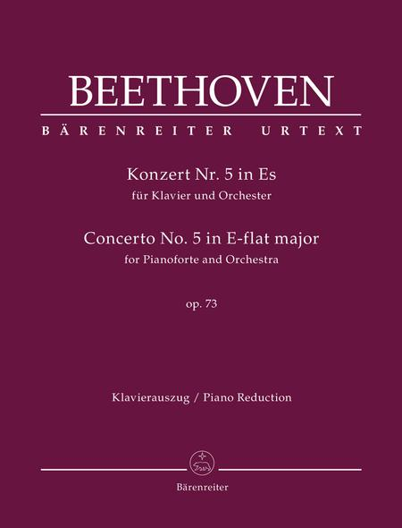 Concerto for Pianoforte and Orchestra Nr. 5 E-flat major op. 73