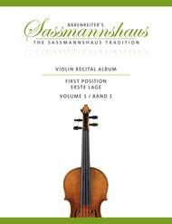 Violin Recital Album First Position, Volume 1