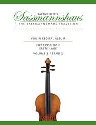 Violin Recital Album First Position, Volume 2