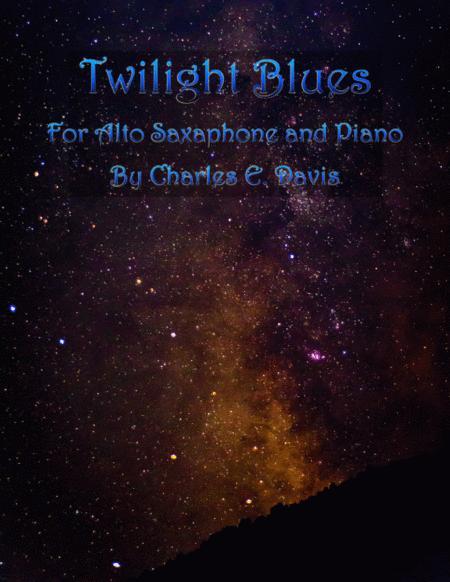 Twilight Blues - Two Alto Saxes and Piano