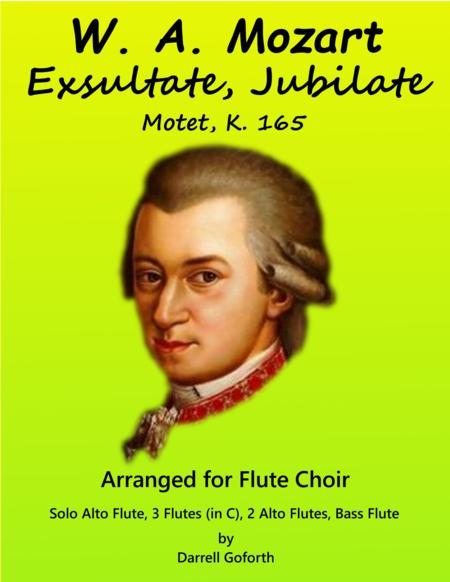 Mozart: Exsultate, Jubilate for Flute Choir