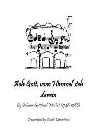Johann Gottfried Müthel - Ach Gott, vom Himmel sieh darein