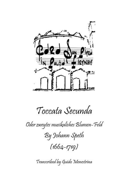 Johann Speth - Toccata Secunda - Transcription by Guido Menestrina