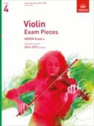 Violin Exam Pieces 2016-2019, ABRSM Grade 4, Score & Part
