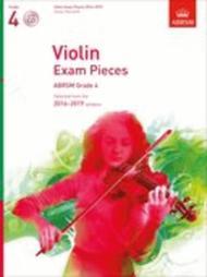 Violin Exam Pieces 2016-2019, ABRSM Grade 4, Score, Part & CD