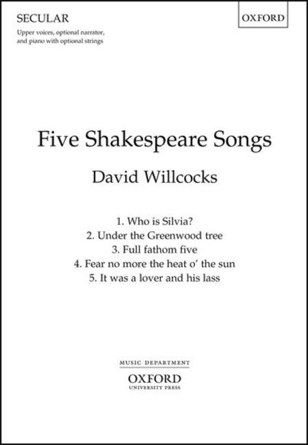 Five Shakespeare Songs