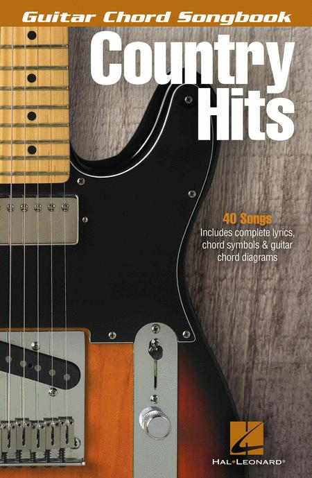 Country Hits - Guitar Chord Songbook Sheet Music By Various - Sheet ...
