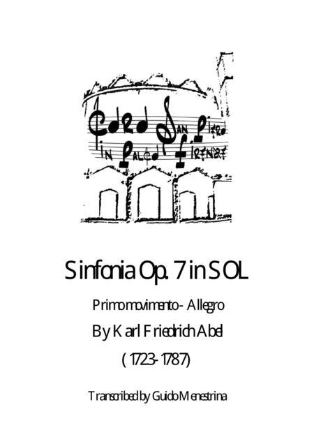Karl Friedrich Abel - Sinfonia Op. 7 n. 1 - Primo Movimento - Allegro