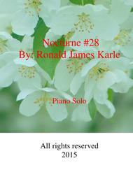 Nocturne #28 by: Ronald J. Karle